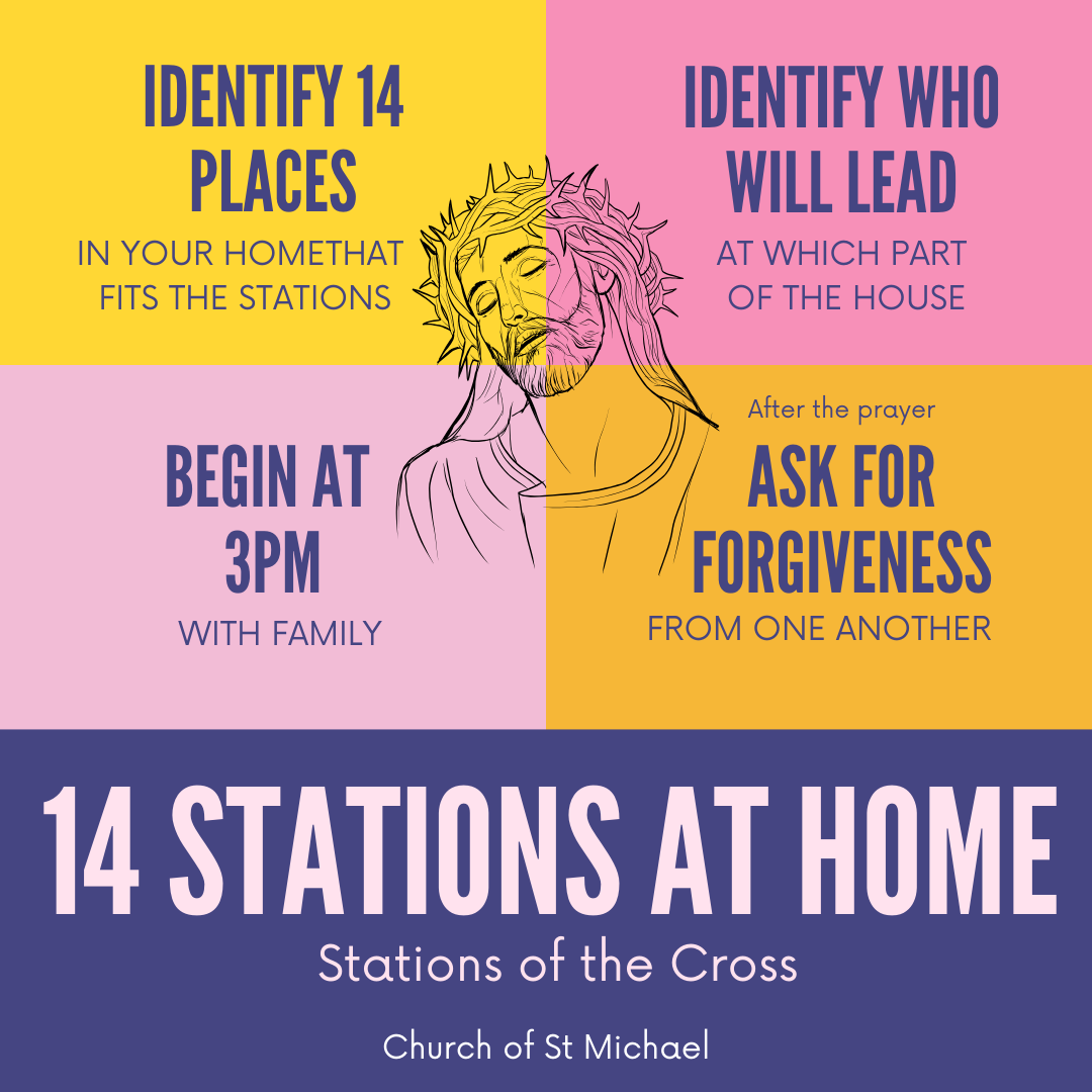 14 Stations at home