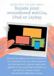Donate Secondhand devices