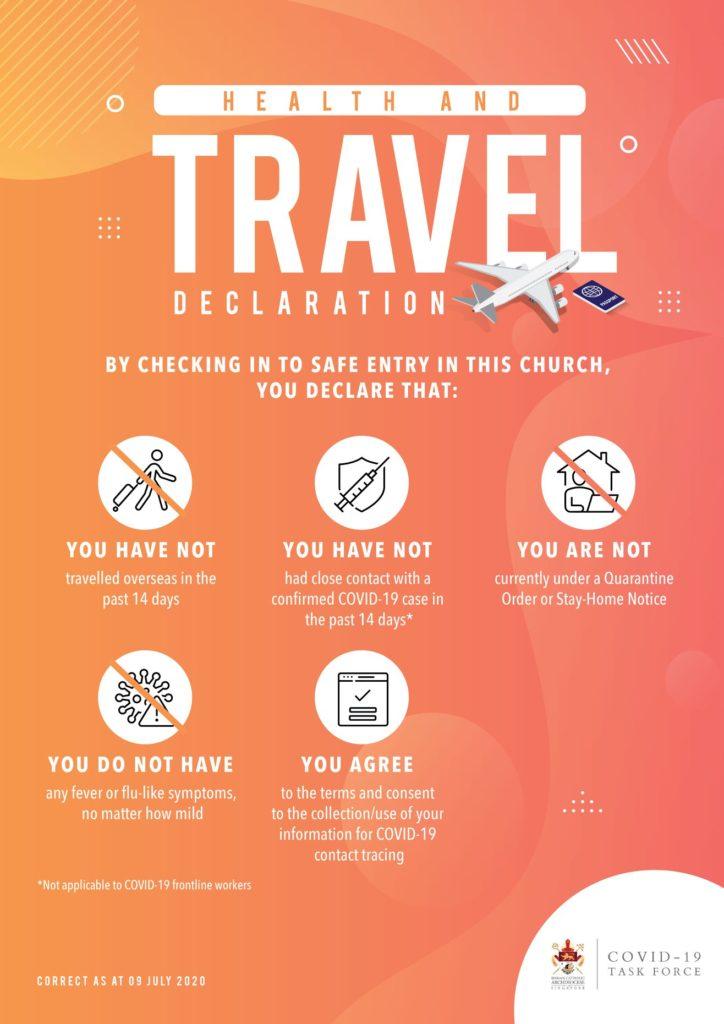 Travel Declaration