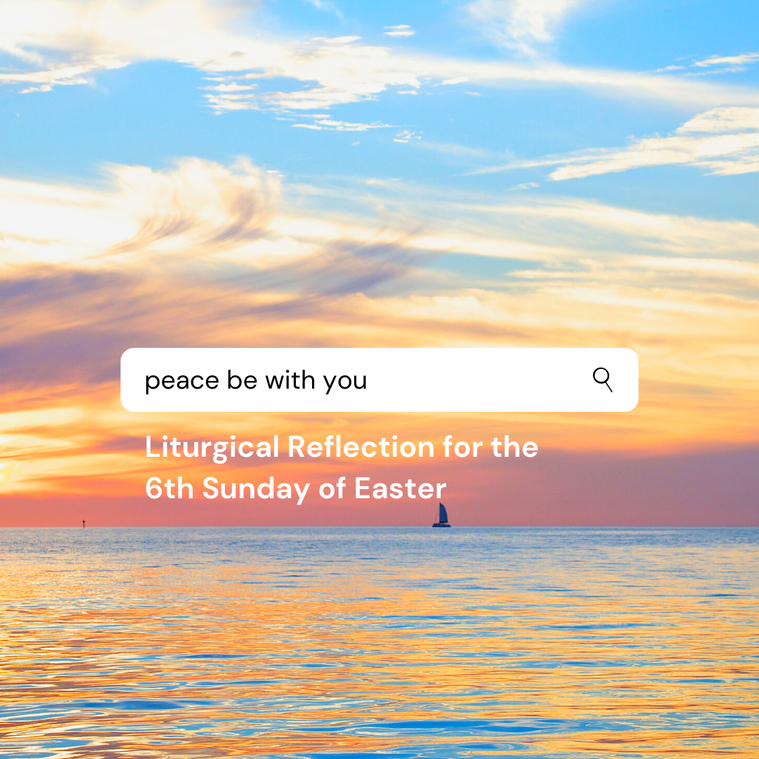 Liturgical Reflection for the 6th Sunday of Easter (26 May 2020)