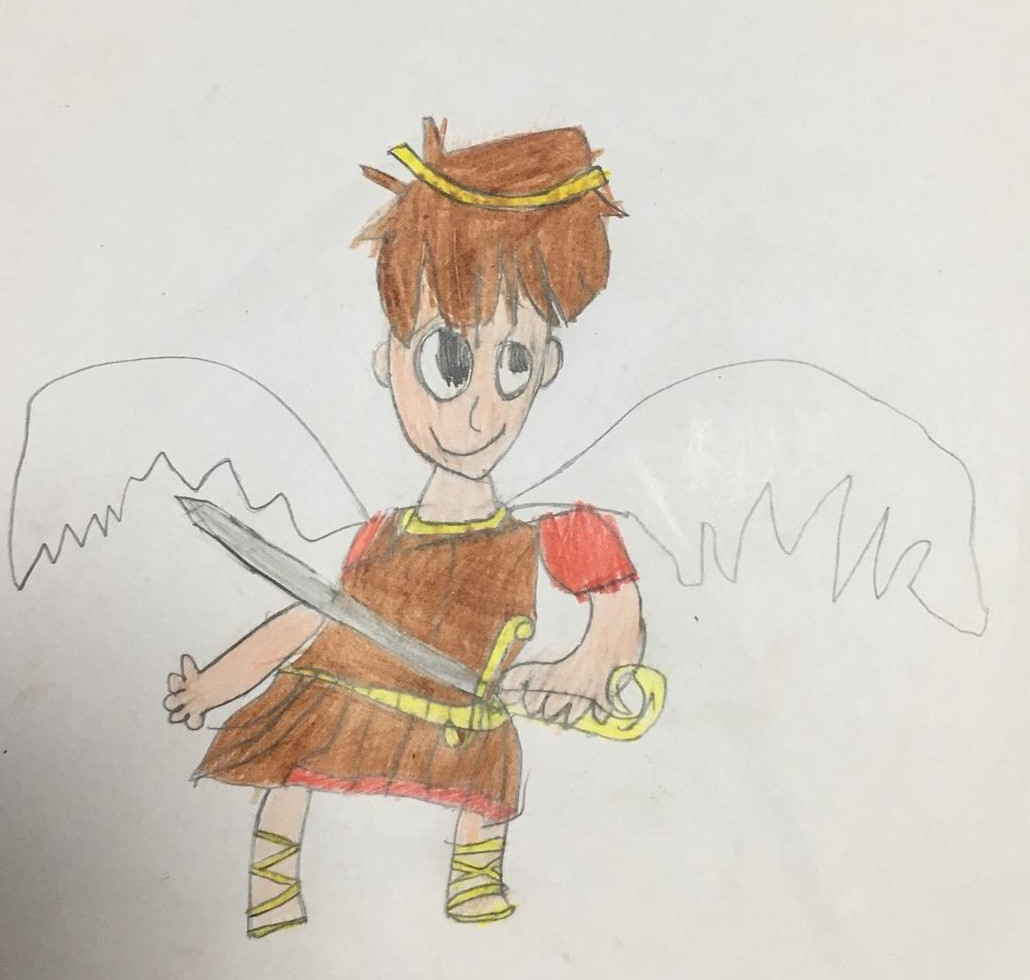 Children Art- Saint Michael- CSM Feast Day 2020