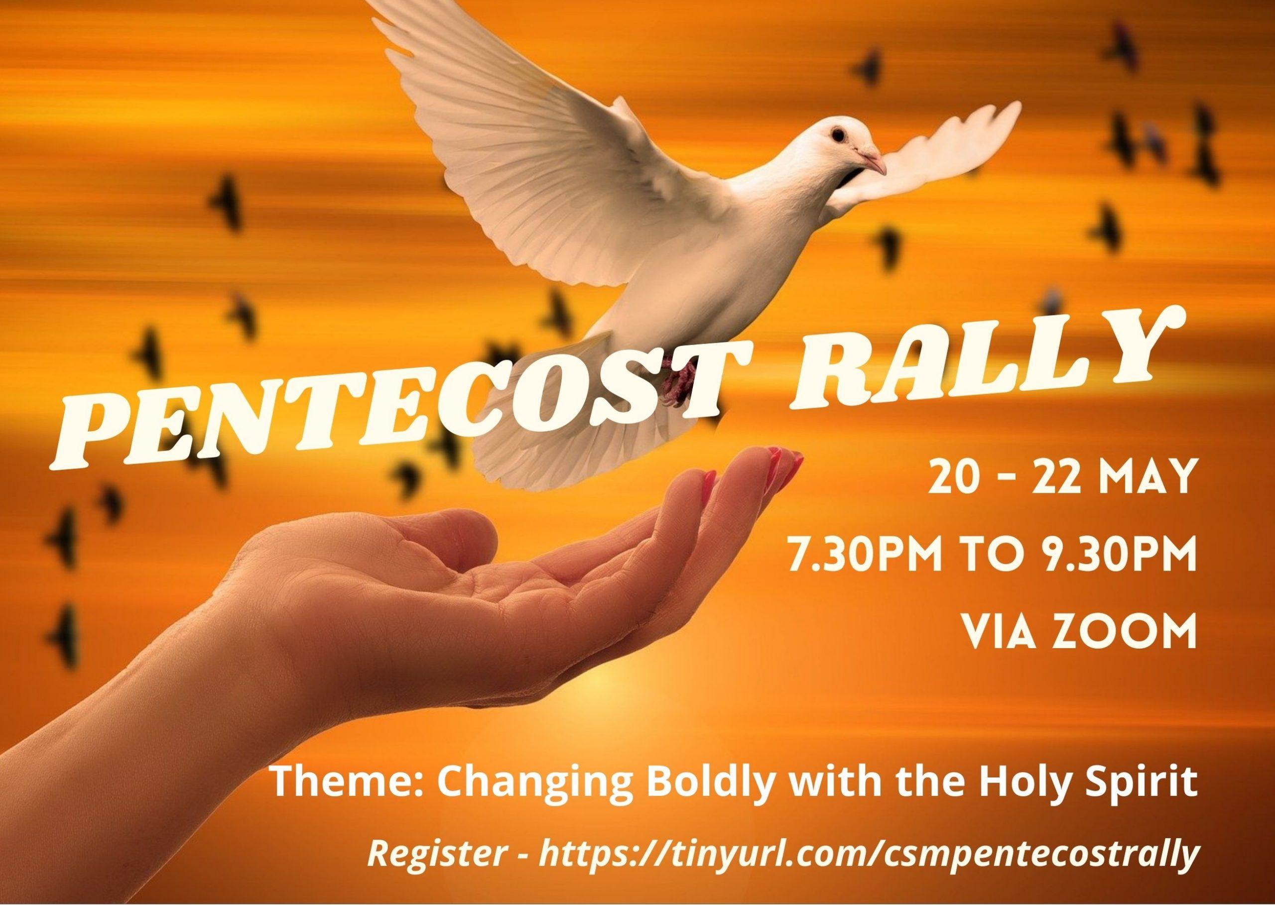 CSM Pentecost Rally