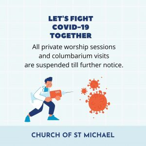 Suspended church activities
