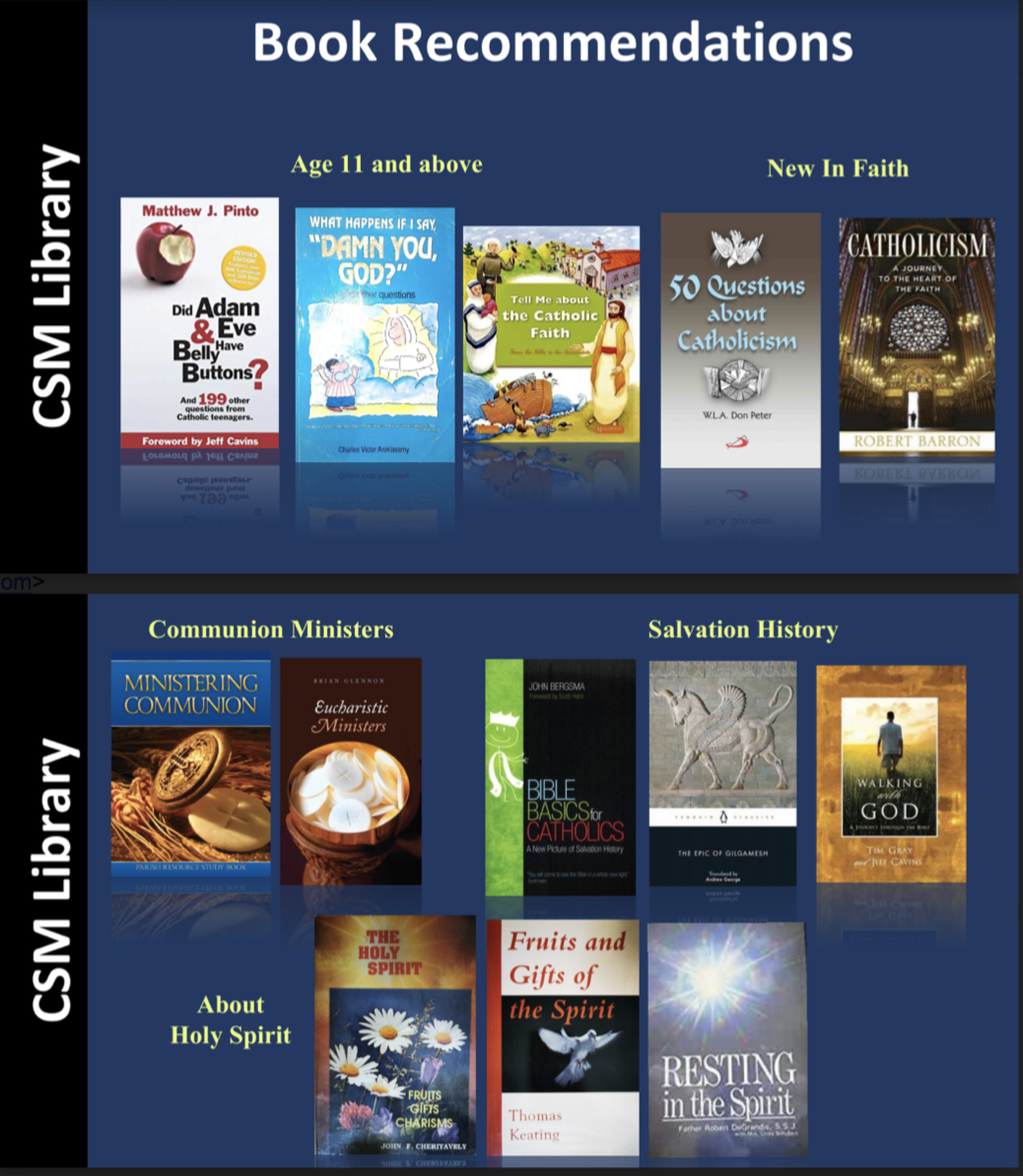 CSM Library Recommendations