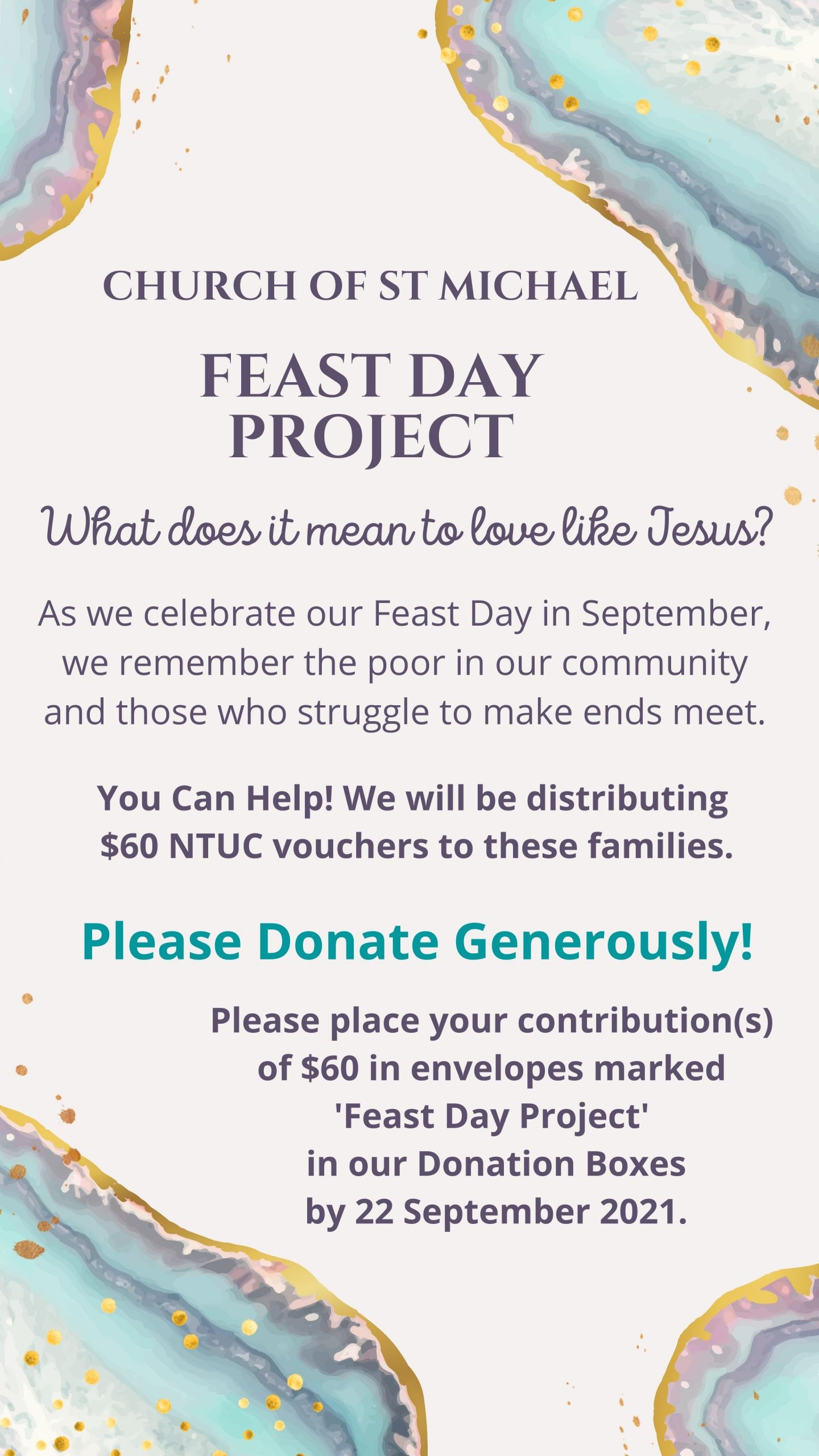 Feast Day Project