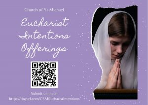 Eucharist Intentions Offerings