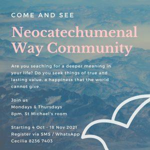 Neocatechumenal Way Community