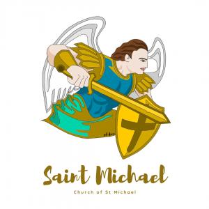 Saint Michael- Illustration