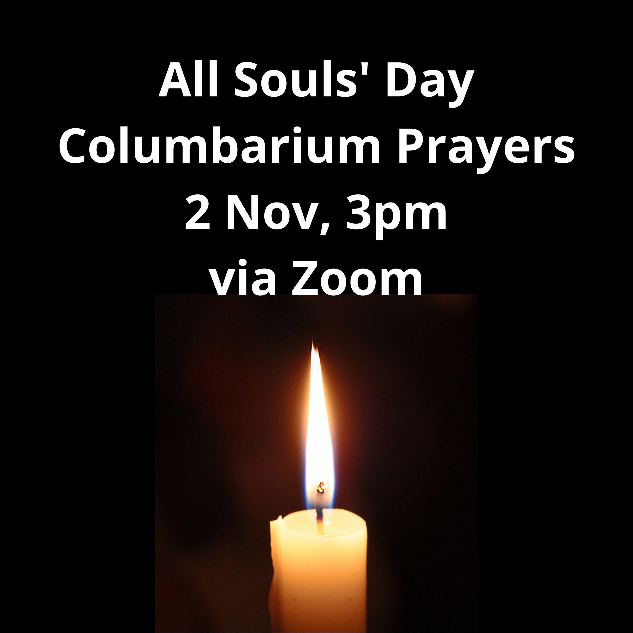 ALL SOULS' DAY Columbarium Prayers
