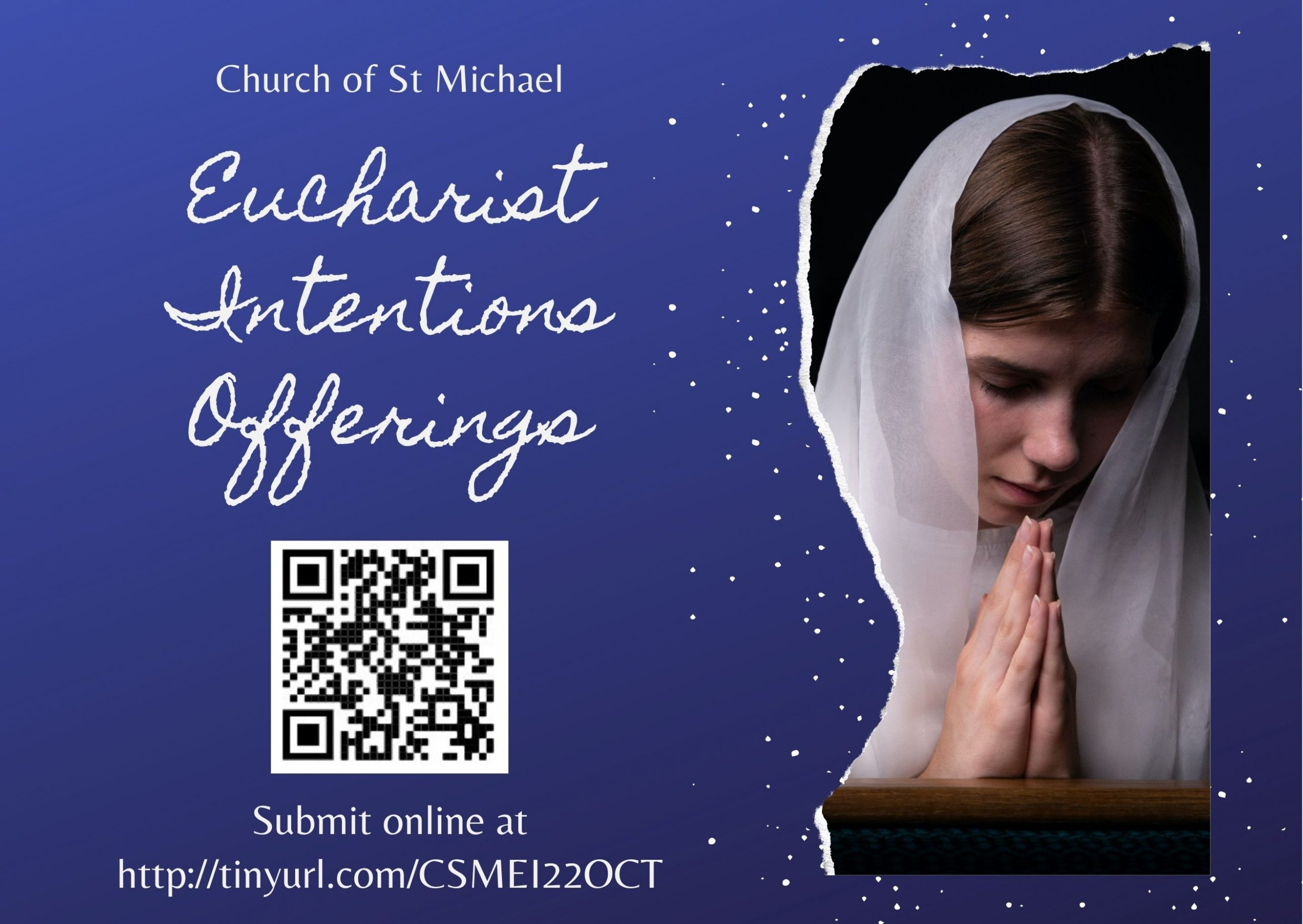Submit Eucharist Intentions Offerings Online